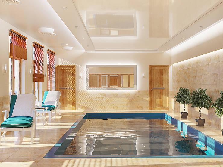 Pool by студия Design3F, Minimalist