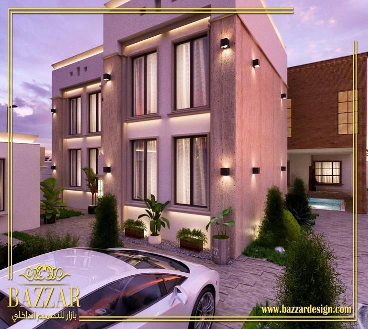 وجهات فلل:  Garden  تنفيذ Bazzar Design