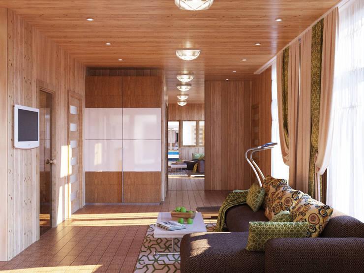 Интерьер комнаты отдыха : Спа в . Автор – студия Design3F, Эклектичный