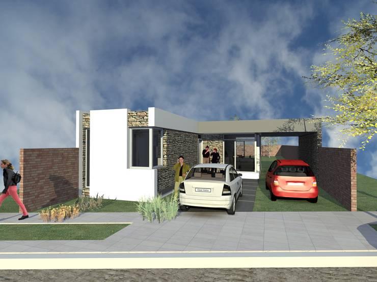 Casa Ortega - Puerto Madryn: Casas unifamiliares de estilo  por Arquitecto Pablo Briguglio