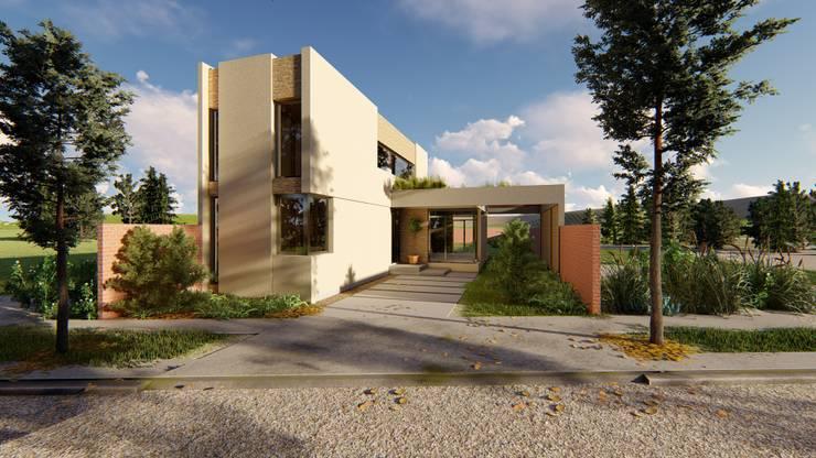 Casa Ortega – Puerto Madryn: Casas unifamiliares de estilo  por Arquitecto Pablo Briguglio