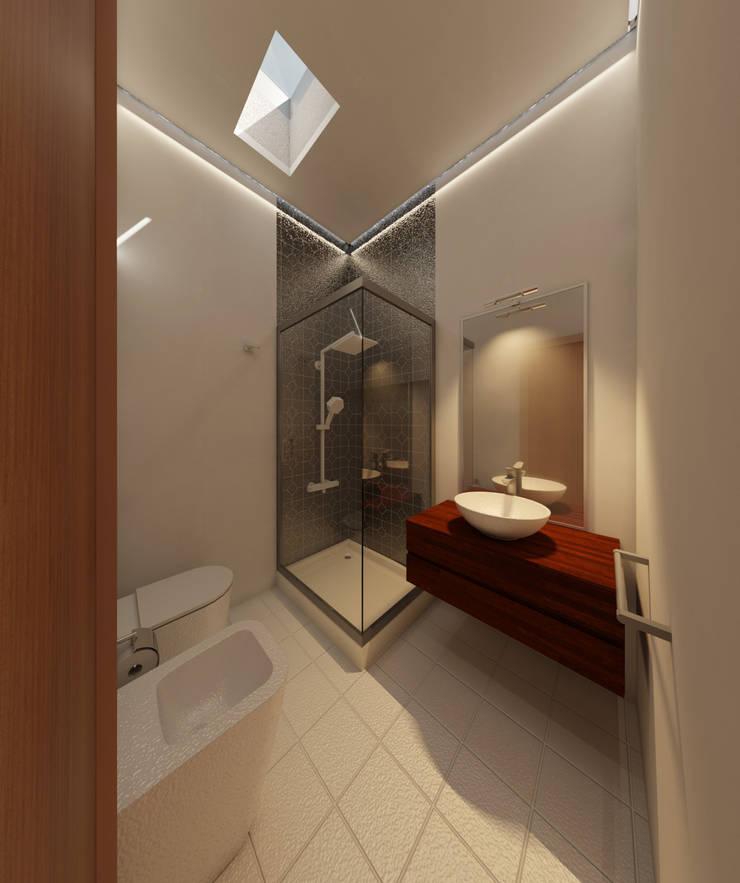 Remodelación de baño: Baños de estilo  por CG ARQUITECTA,