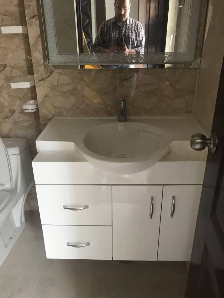 Bathroom Cupboards Design:  Bathroom by Archplanest