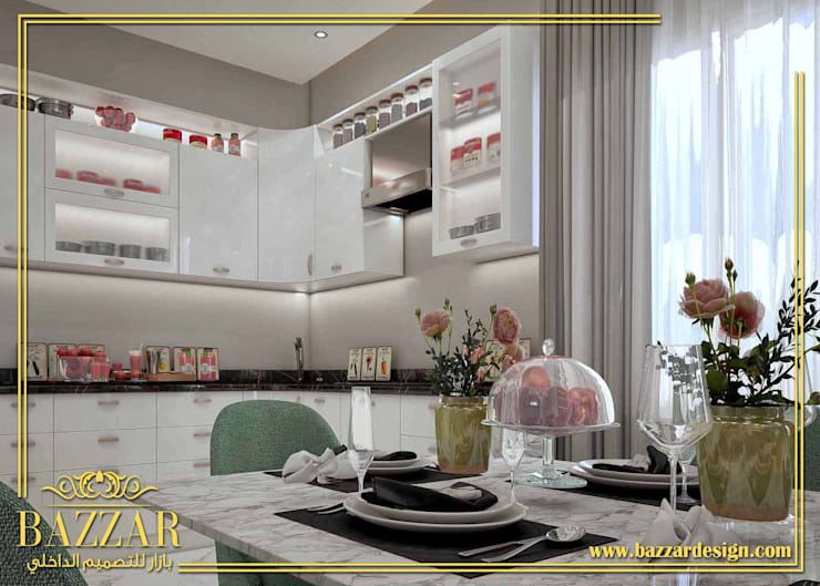 غرف طعام:  Dining room تنفيذ Bazzar Design
