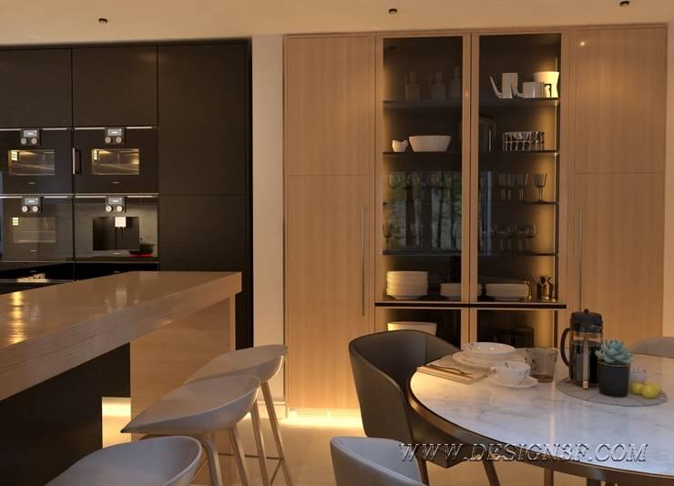 Современный интерьер кухни: Кухни в . Автор – студия Design3F, Минимализм