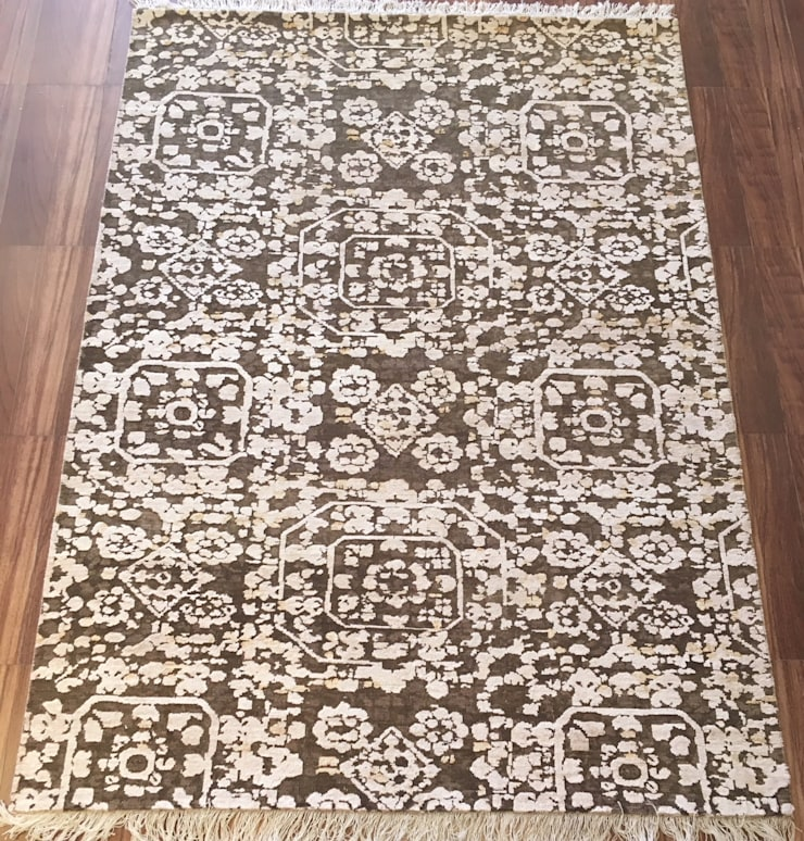 Hand Knotted Persian Carpet:  Walls & flooring by Capital Carpet Company