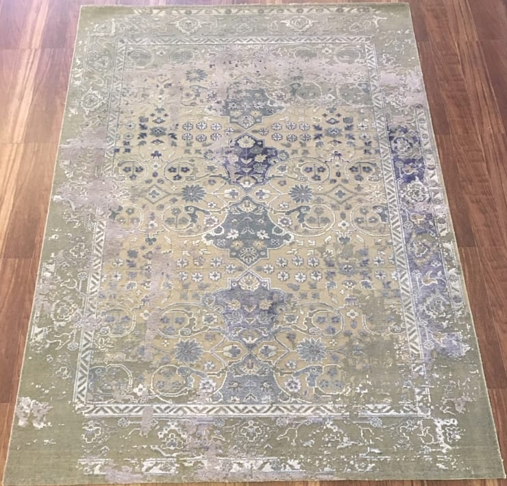 Hand Knotted Carpet:  Walls & flooring by Capital Carpet Company