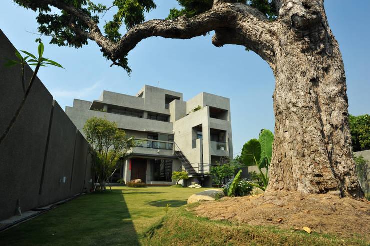 老樹新屋:  房子 by 黃耀德建築師事務所  Adermark Design Studio