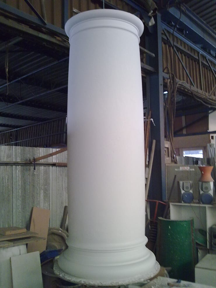 Building column, exterior column:  Terrace house by Buildart - Fibreglass Specialists