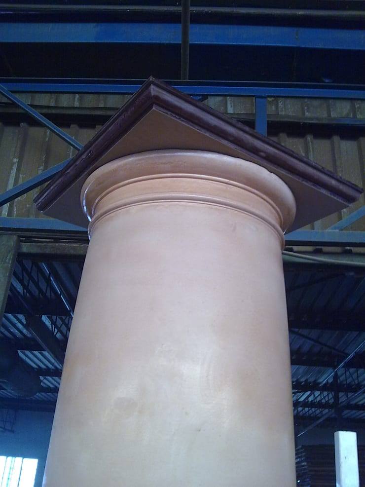 Fibreglass mould,  building column:  Multi-Family house by Buildart - Fibreglass Specialists