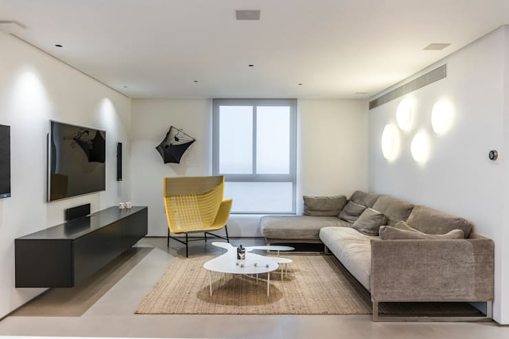 SALA : Salas / recibidores de estilo  por Design Group Latinamerica