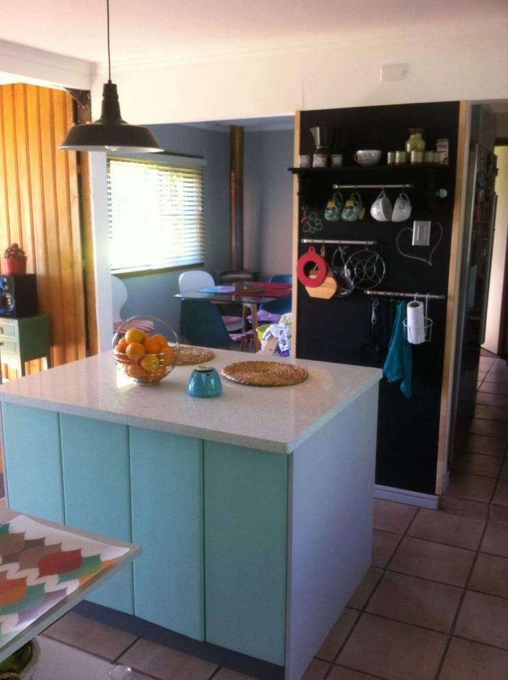 Muebles de cocina Llanquihue, Chile: Muebles de cocinas de estilo  por Quo Design - Diseño de muebles a medida - Puerto Montt