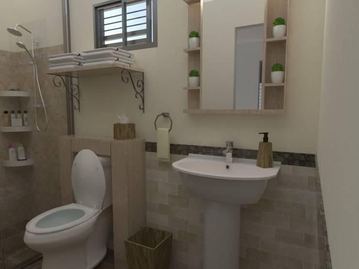 Baño PA:  de estilo  por 78metrosCuadrados