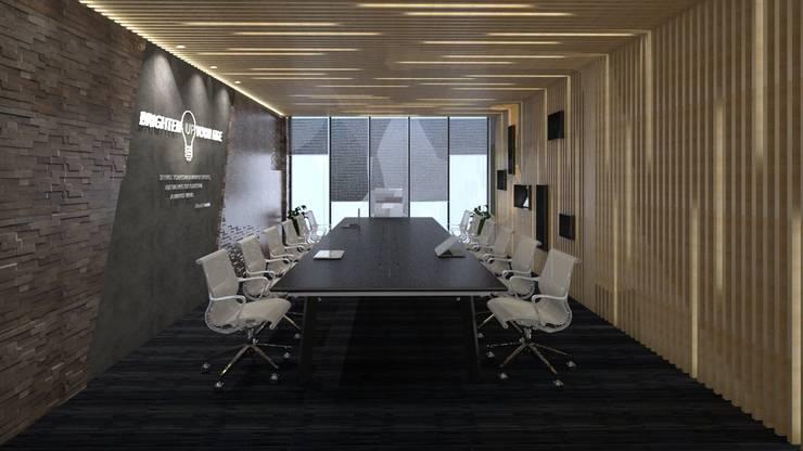ANHSAO Showroom lighting:  Spa by MEG Design Studio