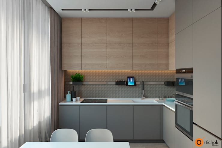 Встроенные кухни в . Автор – Art-i-Chok