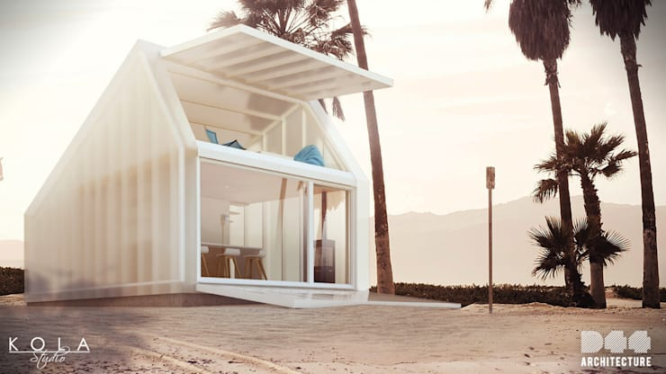 Kite House, catalogue house / Kite house, dom katalogowy: styl , w kategorii  zaprojektowany przez Kola Studio Architectural Visualisation