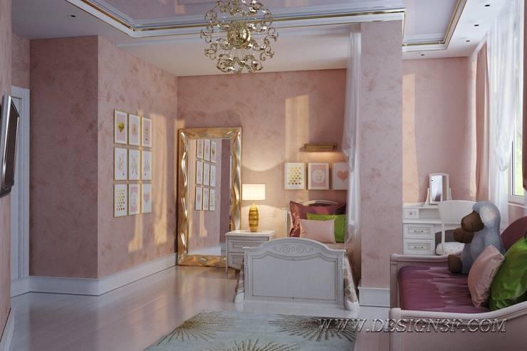Dormitorios infantiles de estilo ecléctico de студия Design3F Ecléctico