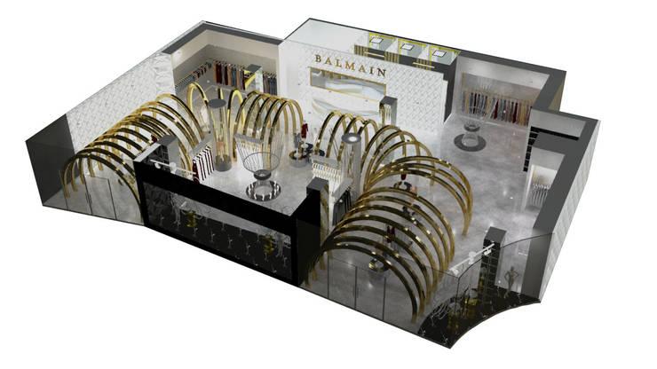 VISTA 3 : Suelos de estilo  por Karla Alvarez - Arquitectura de Interiores