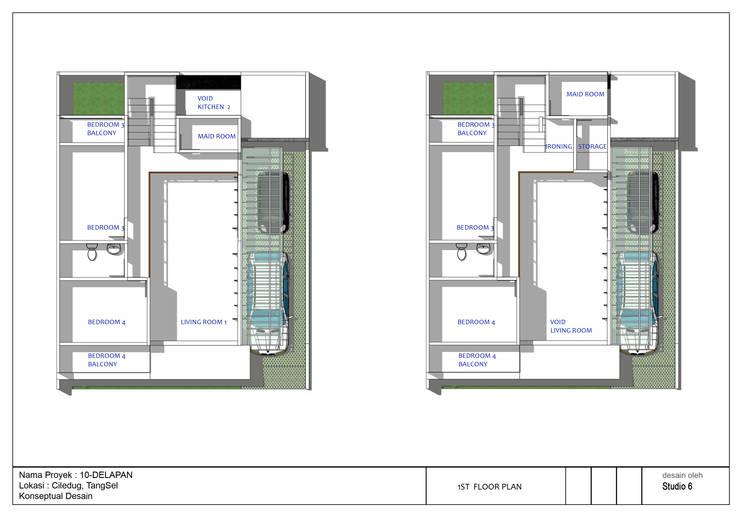Denah Rumah 10Delapan:   by jaas.design