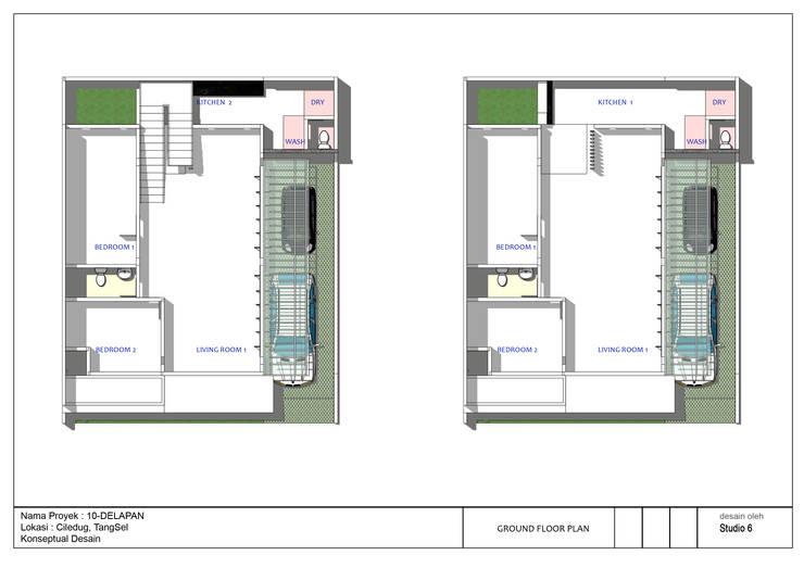 Option Denah Rumah 10Delapan:   by jaas.design
