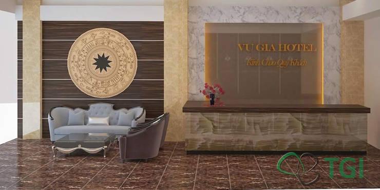Tấm nhựa giả đá tại công trình khách sạn:   by Công ty Cổ phần Xuất Nhập khẩu TGI