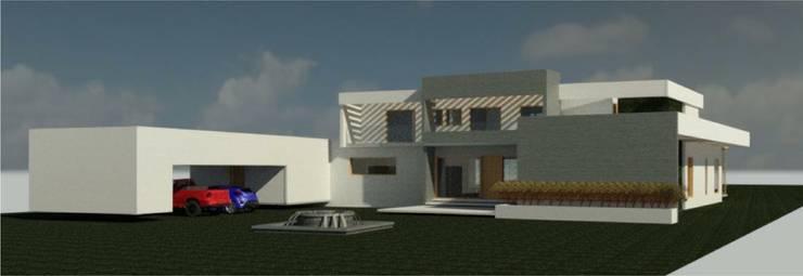 Casa en Calera de Tango: Casas unifamiliares de estilo  por Casas del Girasol- arquitecto Viña del mar Valparaiso Santiago