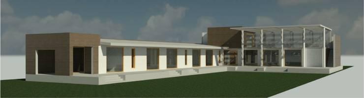 Casa en Olmue: Casas unifamiliares de estilo  por Casas del Girasol
