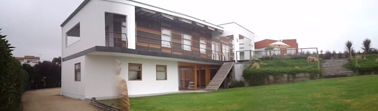 Casa en Maitencillo: Casas de estilo  por Casas del Girasol- arquitecto Viña del mar Valparaiso Santiago