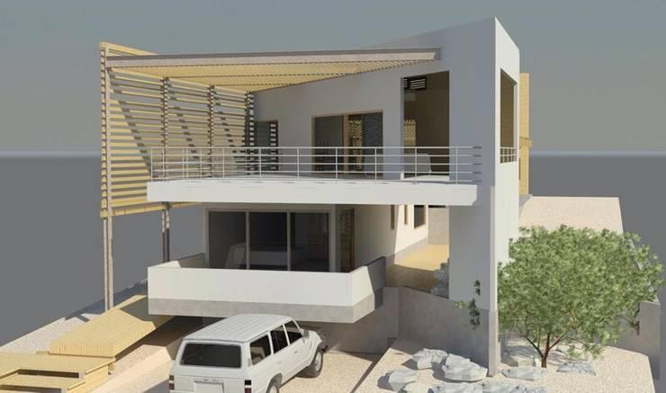 Casa en Bahía Inglesa: Casas unifamiliares de estilo  por Casas del Girasol- arquitecto Viña del mar Valparaiso Santiago