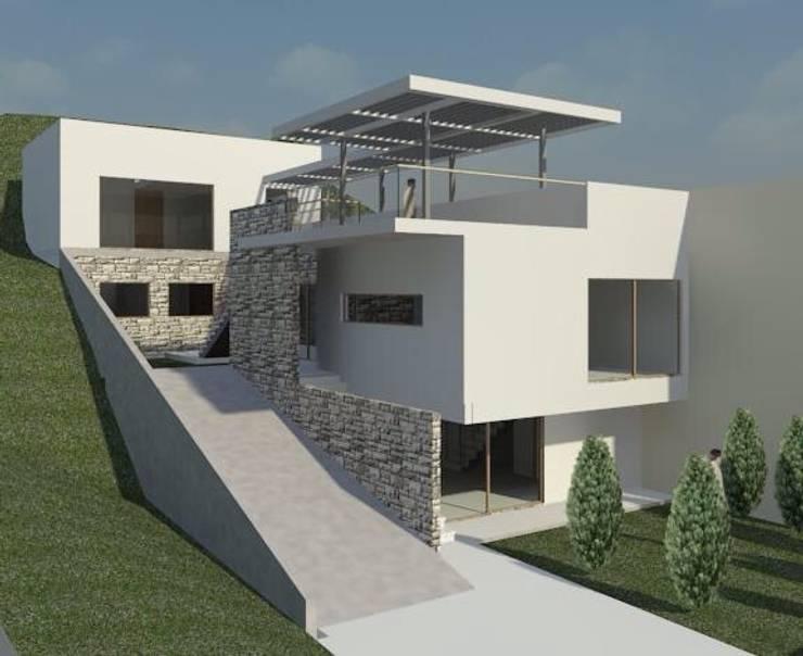 Casa en Recreo: Casas unifamiliares de estilo  por Casas del Girasol