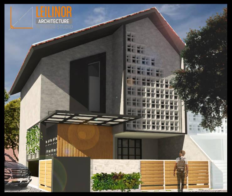 Single family home by CV Leilinor Architect