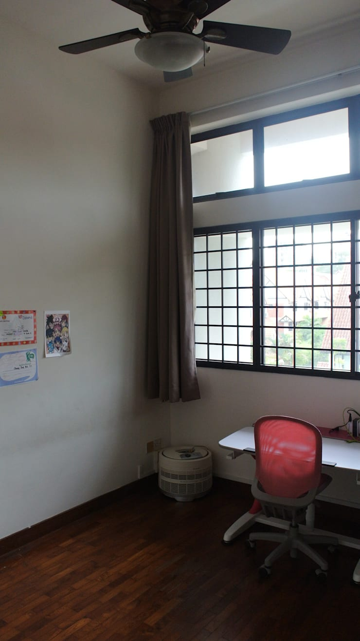 Before renovation of room:  Bedroom by FINE ART LIVING PTE LTD,Modern