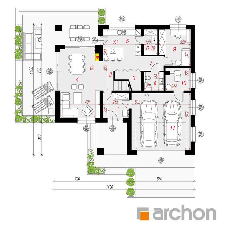 de ARCHON+ PROJEKTY DOMÓW