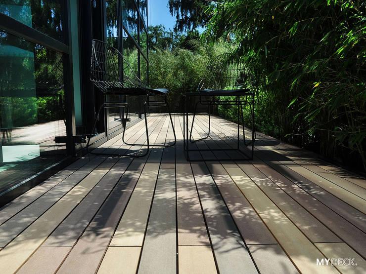 Moderne Terrassengestaltung Mit Schmalen Wpc Terrassendielen De