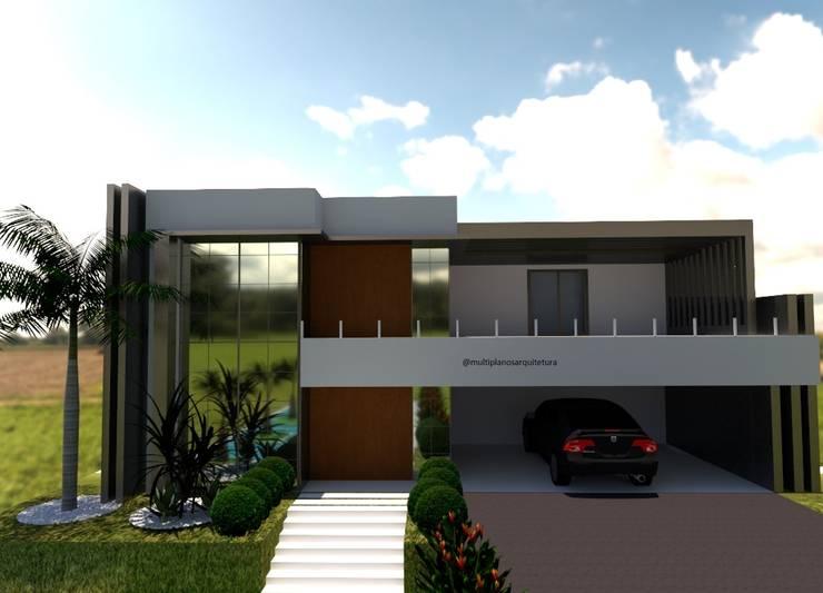 現代房屋設計點子、靈感 & 圖片 根據 Multiplanos Arquitetura 現代風