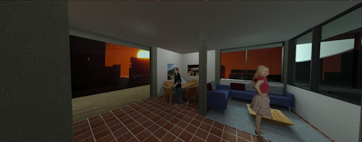 Renderizado de modelos 3D en AutoCAD:  de estilo  por JOSE RAFAEL FERERO ARQUITECTO