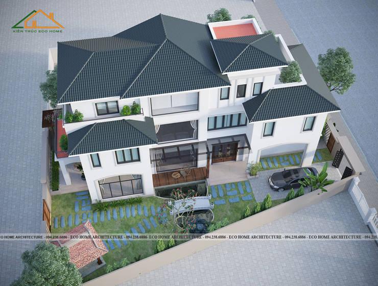 Biệt thự cách tân kiểu Pháp:   by Công ty CP kiến trúc và xây dựng Eco Home