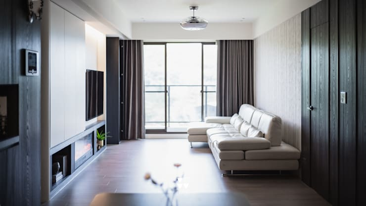 Project | X宅:  客廳 by DUOLE 掇樂設計