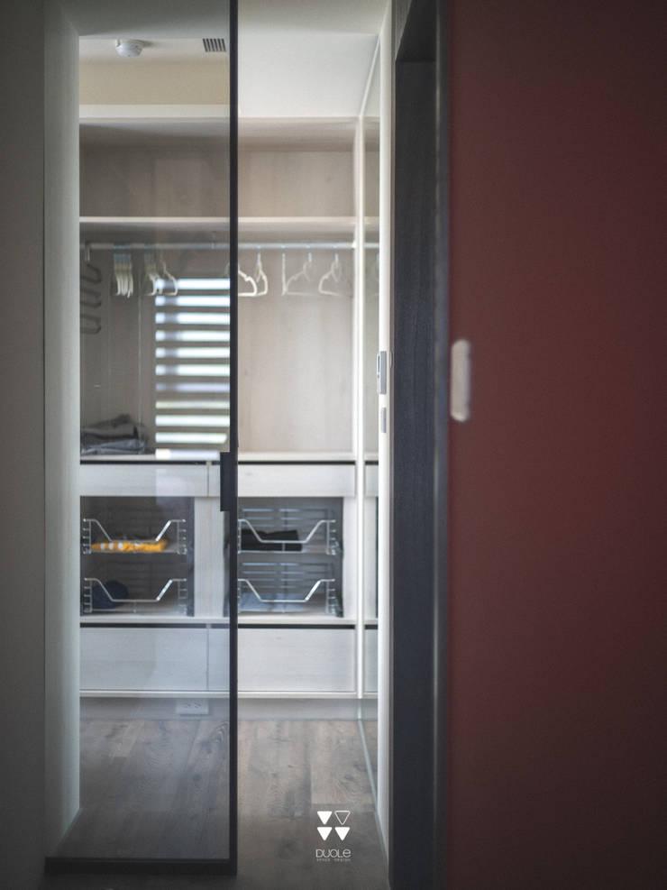 Project | X宅:  更衣室 by DUOLE 掇樂設計