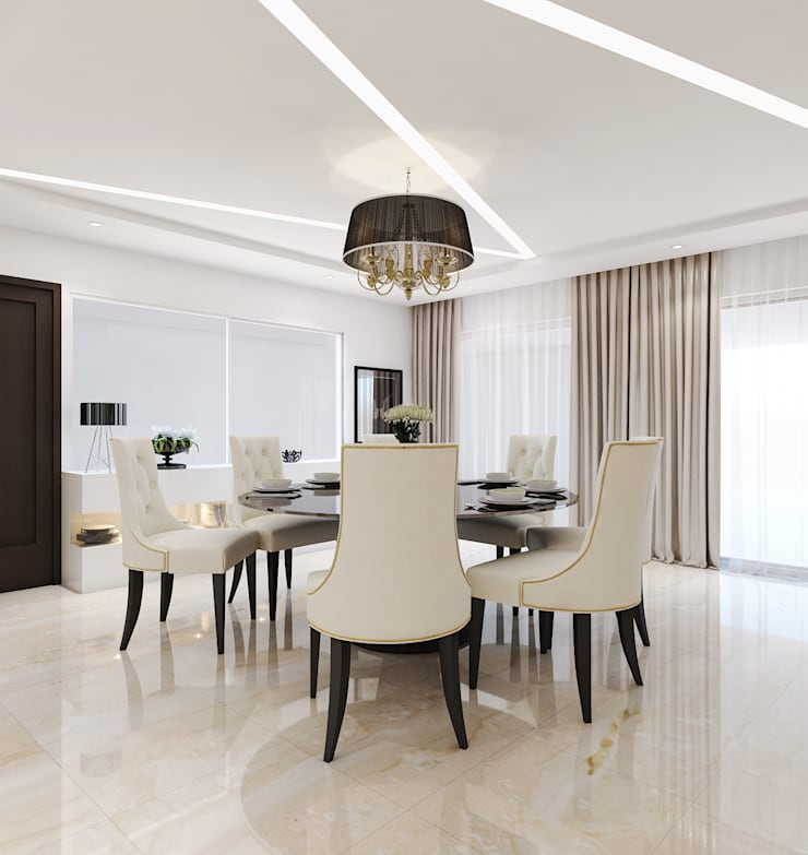 Interiors:  Dining room by Spaces Alive,Modern