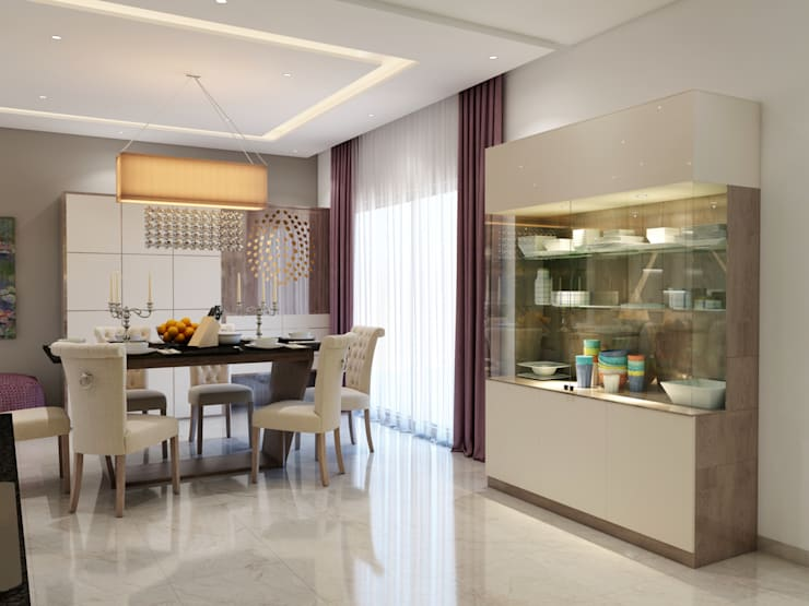 Interiors: classic Dining room by Spaces Alive