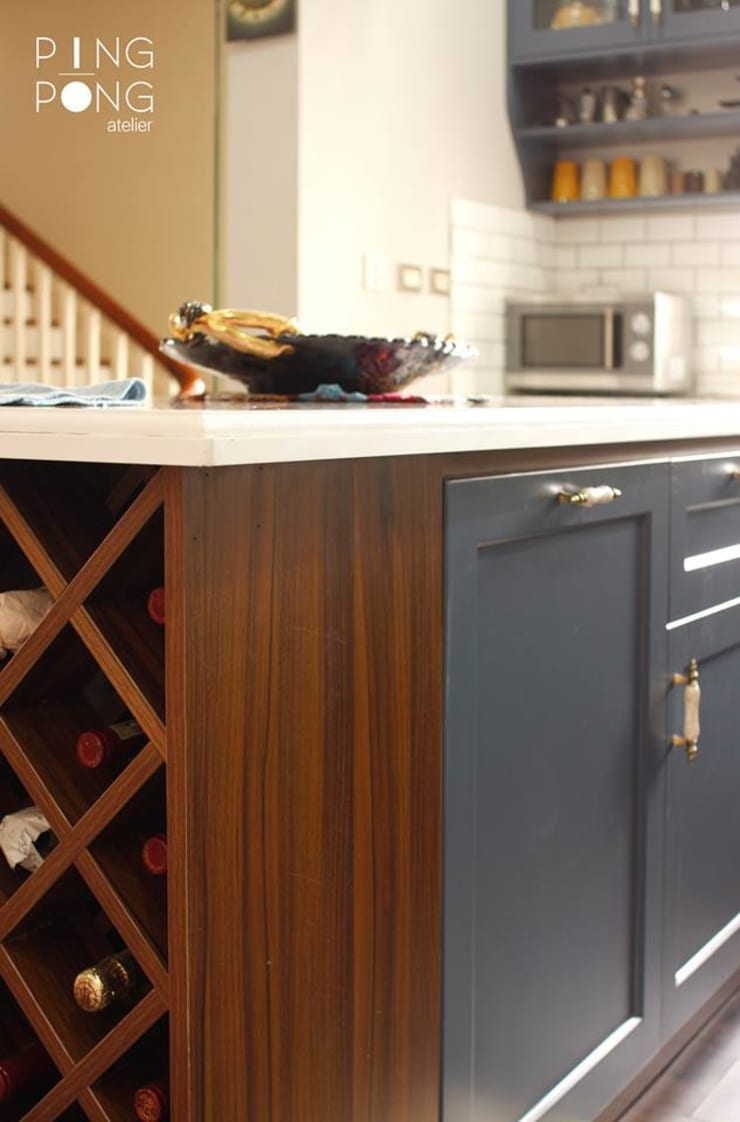 Thiết kế & thi công Bếp :  Tủ bếp by PingPong Atelier Furniture
