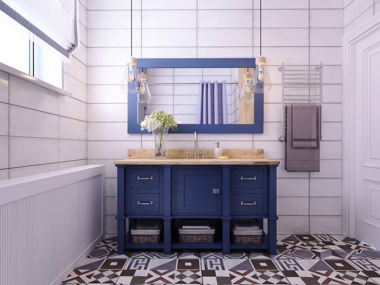 Бросты: Ванные комнаты в . Автор – Айрис Эстет