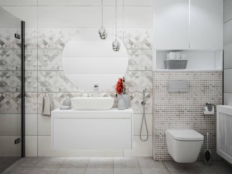 Озёрское: Ванные комнаты в . Автор – Айрис Эстет