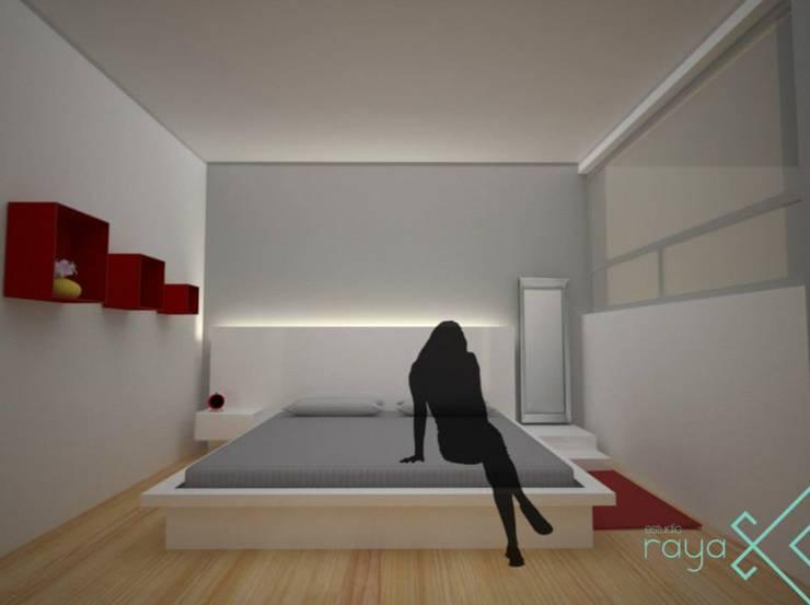 OM 306 / Mi primer departamento :  de estilo  por Estudio Raya