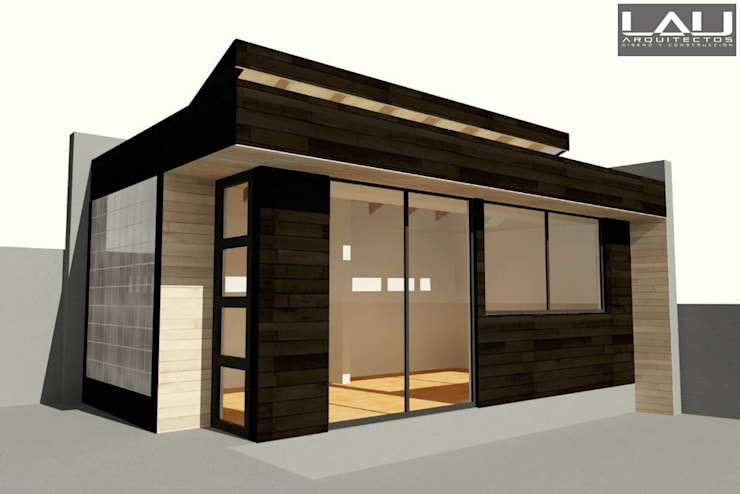 Taller Orfebre: Casas de estilo  por Lau Arquitectos
