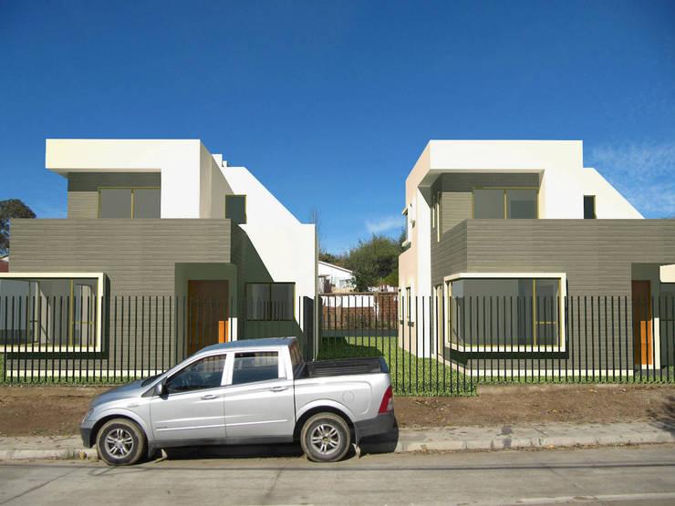 Casa Peñuelas: Casas de estilo  por Lau Arquitectos