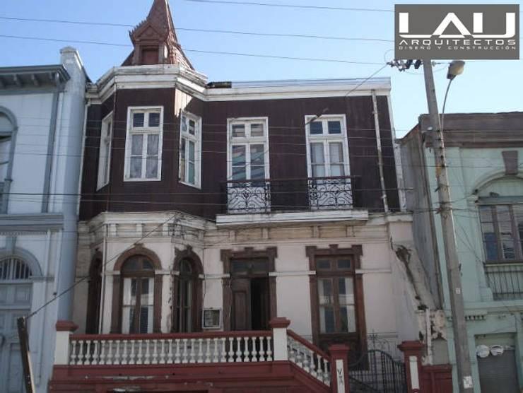 Loft Playa Ancha: Casas de estilo  por Lau Arquitectos