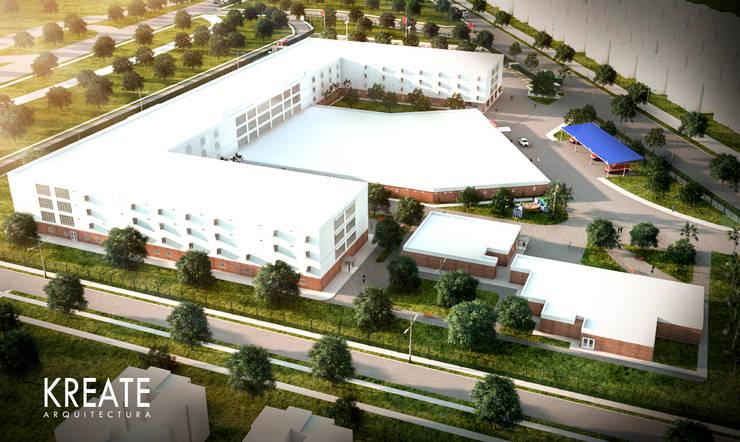 Hospital Eduardo Arredondo Daza.:  de estilo  por KREATE Arquitectura