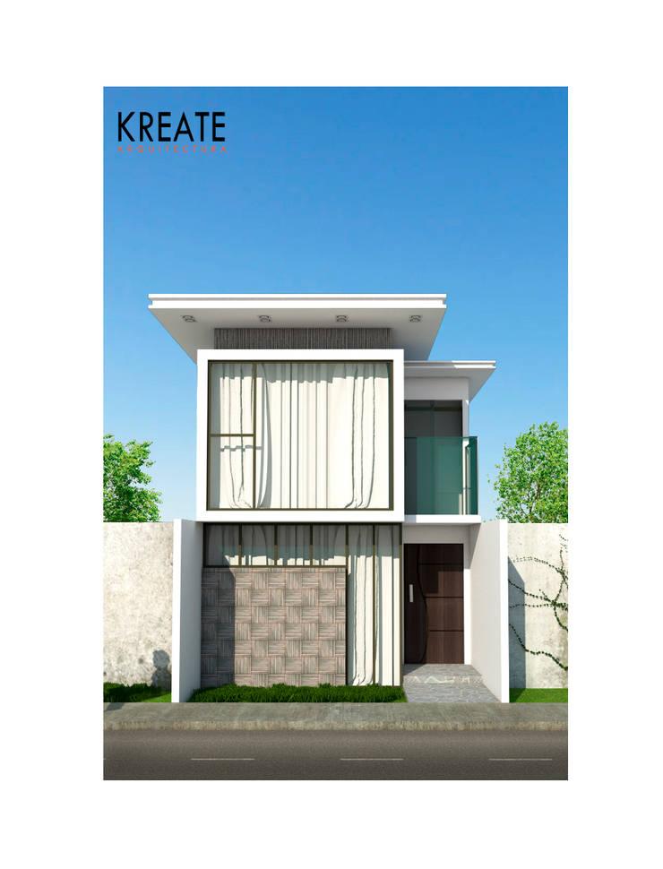 Apartamento Pure White.:  de estilo  por KREATE Arquitectura